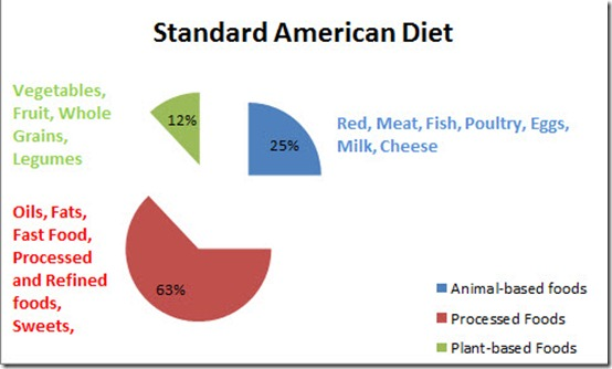 the standard american diet The standard american diet promotes acid-base imbalance by emphasizing the ingestion of inflammatory foods the paleo diet is less acidic and effective.