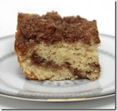 Gluten Free, Sugar Free Vegan (or not) Coffee Cake